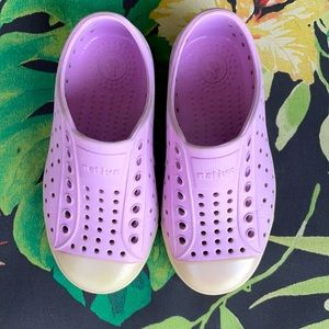 Native glow in the dark shoes size C9